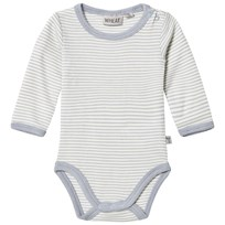 Wheat Stripe Baby Body Dusty Dove Dusty Dove