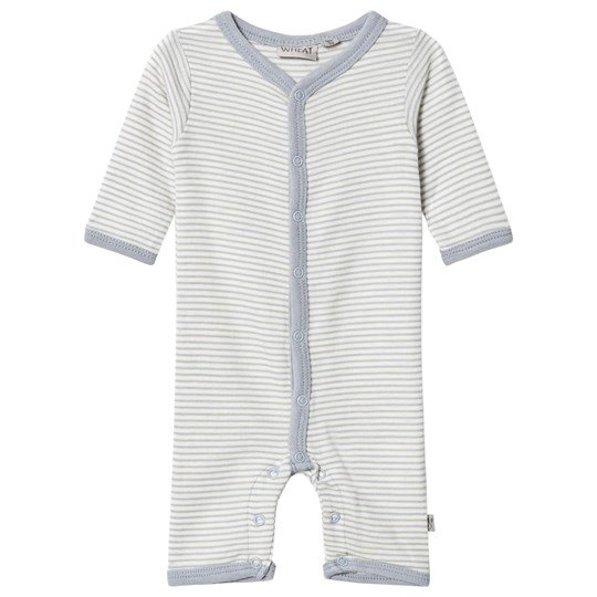 Wheat Stripe One-Piece Dusty Dove Dusty Dove