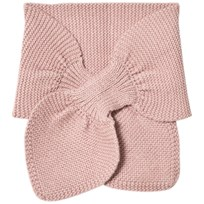 Wheat Knitted Baby Scarf Rose Powder Rose Powder