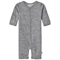 Wheat Bodysuit Grå Melange Grey