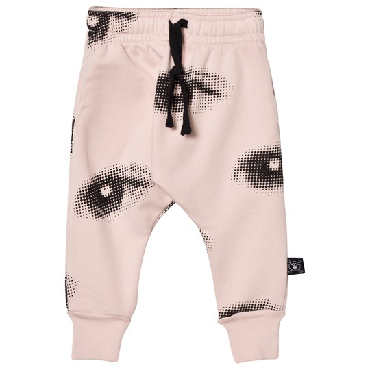NUNUNU Eye Baggy Pants Powder Pink Powder Pink