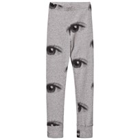 NUNUNU Eye Leggings Heather Grey Grey