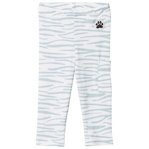 Image of Little LuWi Leggings Blue Tiger Print 1-2 år (975204)