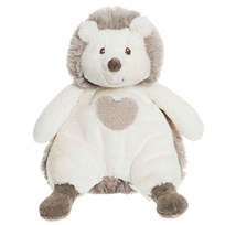 Teddykompaniet Teddy Cream Hedgehog Small Grey