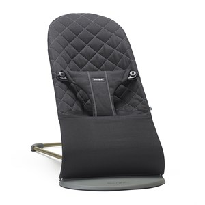 Image of Babybjörn Bouncer Bliss Cotton Black One Size (842937)
