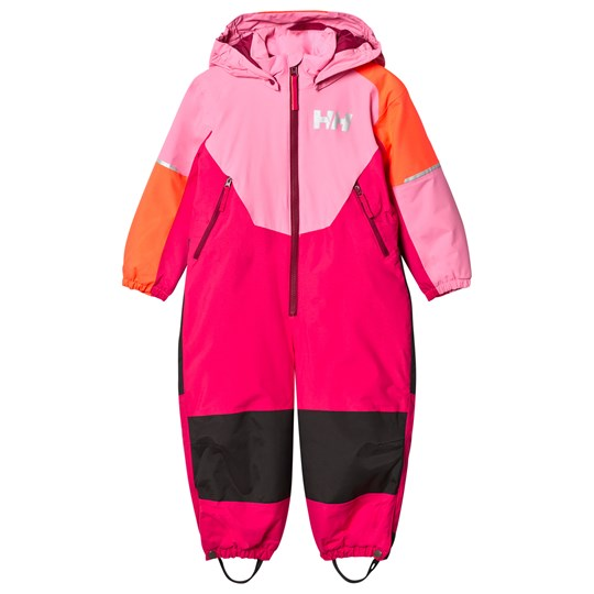 Helly Hansen Kids Rider Ins Ski Suit in Pink 119 Pink Carnation