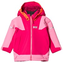 Helly Hansen Kids Velocity 2 Ski Jacket Pink 127 Bright Rose