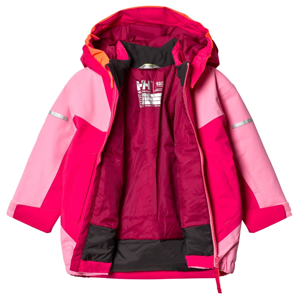 Helly Hansen Kids Velocity 2 Ski Jacket Pink Babyshop.no