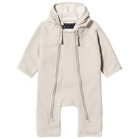 Ver de Terre Double Face Fleece Baby Coverall Kit/Vanilla Kit/vanilla