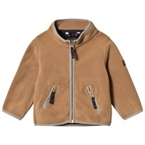 Ver de Terre Double Face Fleece Jacket Hazelnut/Navy Hazelnut/navy