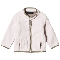 Ver de Terre Double Face Fleece Jacket Rose Powder/Mocca Rose powder/mocca