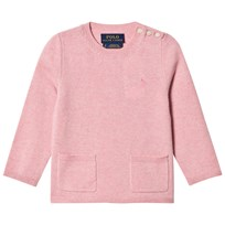 Ralph Lauren Wool Pocket Sweater Pink 001