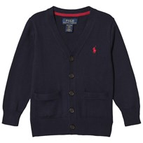 Ralph Lauren Long Sleeve Cardigan Navy 001