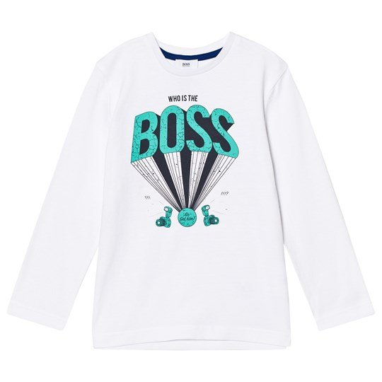 BOSS White Logo Tee