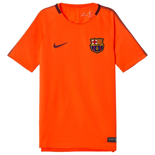 Barcelona FC Junior FC Barcelona Squad T-shirt HYPER CRIMSON/NIGHT MAROON/NIGHT MAROON