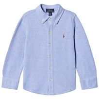 Ralph Lauren Blue Soft Mesh Shirt 001