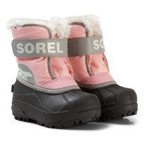 Sorel Childrens Snow Commander™ Boots Cupid/Dove Cupid Dove