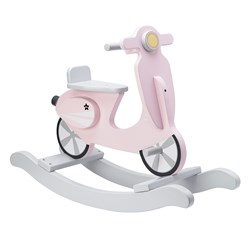 Kids Concept Rocking Scooter Pink/White