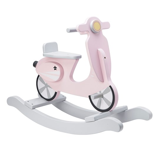 Kids Concept Rocking Scooter Pink/White Pink/White