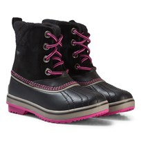Sorel Youth Slimpack™ II Lace Boot Black/Kettle black Kettle