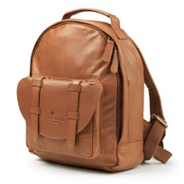 Elodie Details BackPack MINI - Chestnut Leather Ruskea