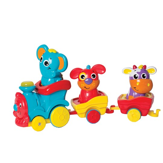 Playgro Fun Friends Choo Choo Train White