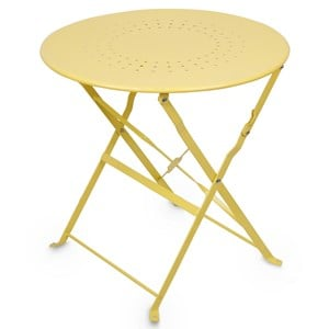 Image of JOX Café Table Yellow (3056115953)