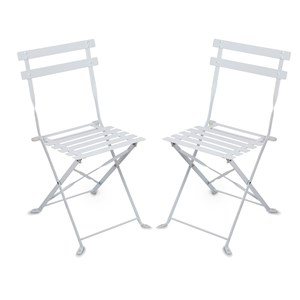 Image of JOX Café Chairs White (3056115959)