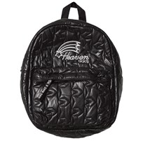 IKKS Black Quilted Backpack with Ears 02