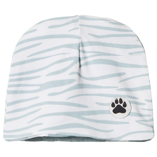 Little LuWi Reversible Blue Tiger/Cow Hat Tiger/Cow print