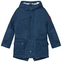 Little Marc Jacobs Blue Hooded Parka 859