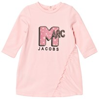 Little Marc Jacobs Pale Pink MTV Marc Print Dress 455
