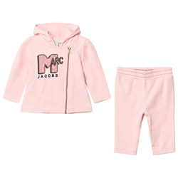 The Marc Jacobs Pale Pink MTV Marc Print Tracksuit