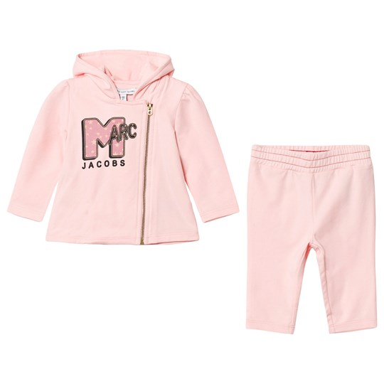 Little Marc Jacobs Pale Pink MTV Marc Print Tracksuit 455