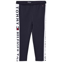 Tommy Hilfiger Navy Branded Panel Leggings 431