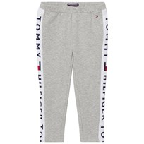 Tommy Hilfiger Grey Branded Panel Leggings 004