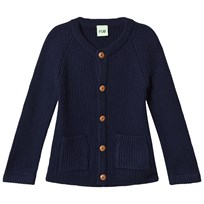 FUB Knit Jacket Navy Navy