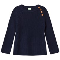 FUB Rib Sweater Navy Navy