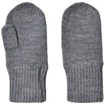 FUB Mittens Grey Black