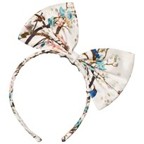 No Added Sugar Peacock Printed Bow Headband GUILDED PEACOCK
