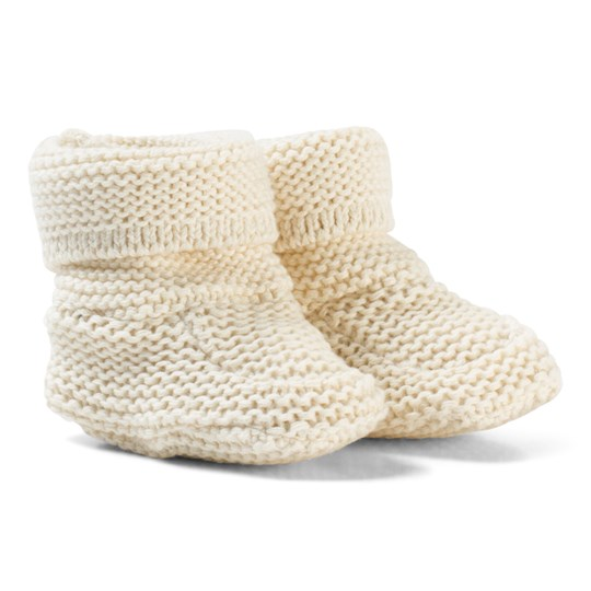 GAP Garter Booties French Vanilla FRENCH VANILLA