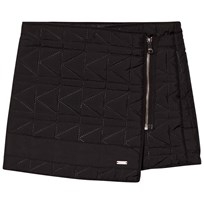 Karl Lagerfeld Kids Black Quilted Skirt 09B