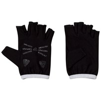 Karl Lagerfeld Kids Black Fingerless Mittens 09B