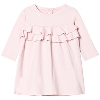 Il Gufo Pink Milano Frill Front Dress 313