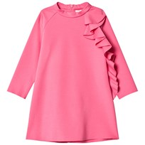 Il Gufo Fuchsia Frill Detail Milano Dress 352