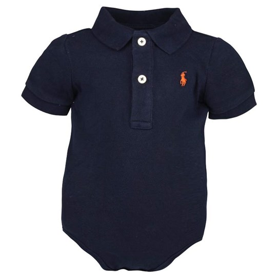 Ralph Lauren SS Polo Bodysuit French Navy Blue