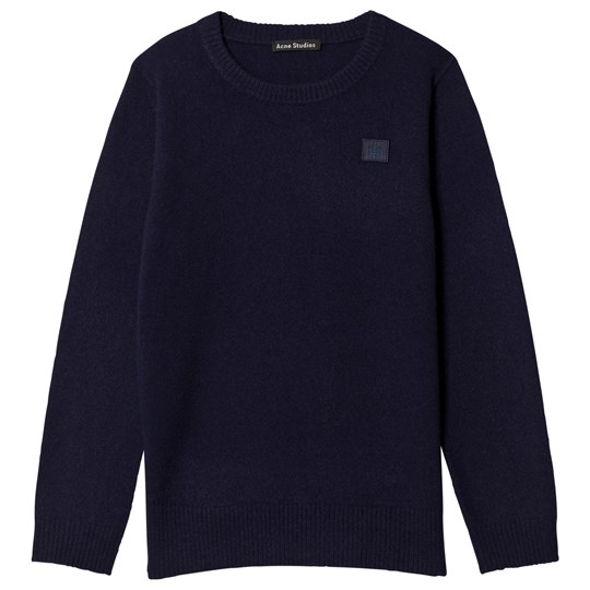 Acne Studios Mini Nalon Sweater Navy Navy