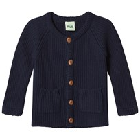 FUB Baby Knit Jacket Navy Navy