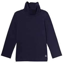 United Colors of Benetton L/S Turtle Neck Top Navy