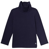United Colors of Benetton Turtle Neck Top Navy Marinblå
